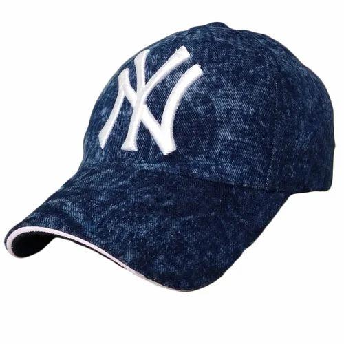 ba1d6772a33 Denim Jeans TyranT Ny 3D Embroidered Cotton Baseball Denim Caps