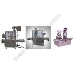 Rotary Powder Filling Machine For Pharmaceutical Powders