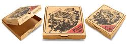 7 X 7 X 1.25 3 Ply Cardboard PIZZA BOX SMALL