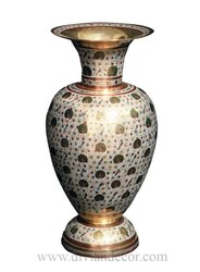 Beryl Brass Flower Vase