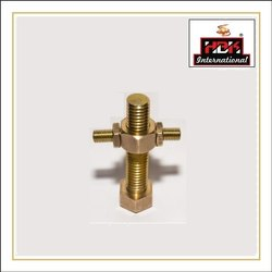 Hbk Hexagonal Decorative Brass Bolt & Nuts, For Industrial