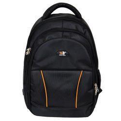 Pnp Fabric Black Laptop Backpack Bag