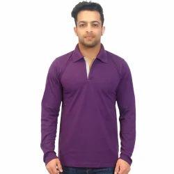 Polo Neck Full Sleeve T-shirt