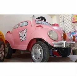 Baby Pink Kids Battery Car, Capacity: 20-25 Kg