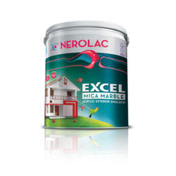 Nerolac Excel Mica Marble Acrylic Exterior Emulsion Paint, Packaging Type: Bucket