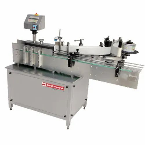 Automatic Single Side Sticker Labeling Machine
