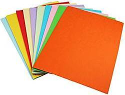 Multicolour Thick Paper Chart Gsm 140