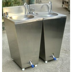 FOOT OPERATED HAND WASH FACILITY