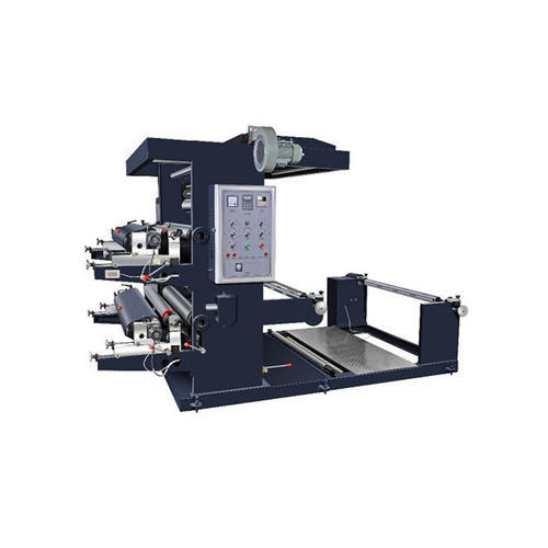 Two Color Flexo Non Woven Bag Printing Machine
