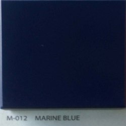 Marine Blue Acrylic Solid Surface