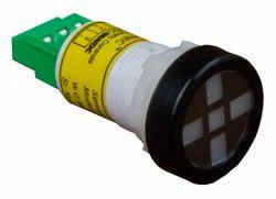 LED Semaphore Indicators-22.5 cutout round