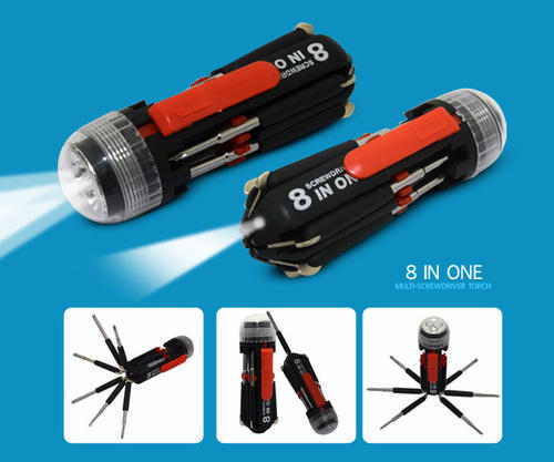 Image result for 8 in one multi-screwdriver torch