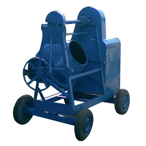 Sai Engineering Cast Iron Manual Hopper Concrete Mixer Machine, Capacity: 100 to 200 Litre