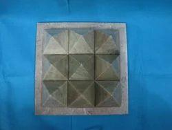 Navagraha Nine Stone Pyramid Natural Healing Stones Vastu