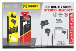 Troops Tp-7019 Universal Stereo Earphone