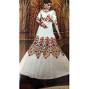 Designer Cold Shoulder Anarkali Suits
