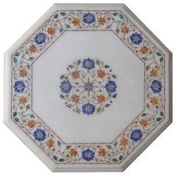 Beautiful Marble Inlay Coffee table top For Designer Project