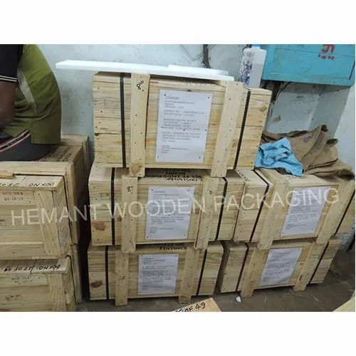 Hemant Wooden Packaging Wood Small Size Wooden Storage Box Id