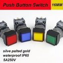 Square Push Buttons 24VDC 16MM