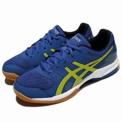 Ladrillo habilidad Ambientalista  Asics Gel Rocket 8 Men s Indoor Court Shoes Imperial Sulphur Spring Silver  at Rs 5000/piece | Badminton Shoes | ID: 21514648612