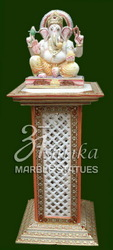 Marble and Stone Handicrafts - Ganesh Statue