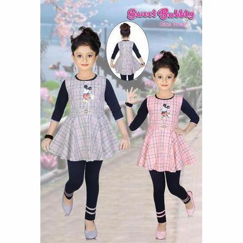 675dc189040f6 Kids Black Casual Wear Fancy Legging