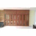 Brown Wall Fixed Mild Steel Almirah, Warranty: 1 Year