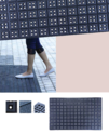 Boxy Kitchen Floor Mats