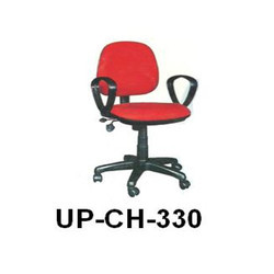 Low Back Red Visitor Chair