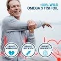 Healthoxide Omega 3 Fish Oil 1000 Mg,60 Softgels