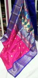 Non branded 6.3 m (with blouse piece) Paithani Sarees