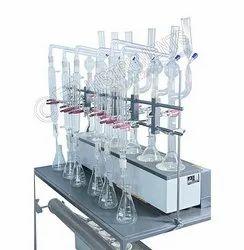Kjeldahl Digestion and Distillation Unit
