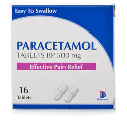 Paracetamol Tablets BP 500 mg