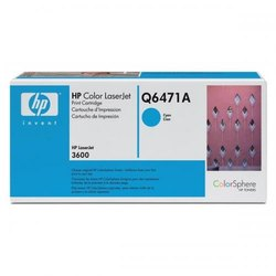 Hp Q6471a Cyan Toner Cartridges