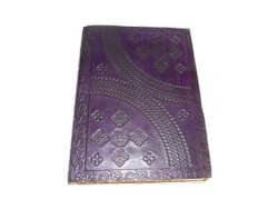Vintage Embossed Handmade Leather Diary