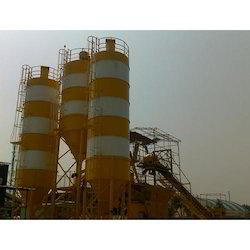 Stainless Steel Batching Plant Silo, Capacity: 0-50 and 50-100 ton