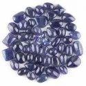 Blue Mix Natural Tanzanite Plain Cabochons