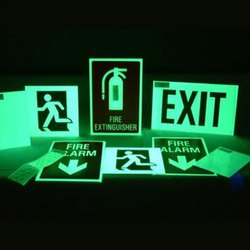 Luminescent Signs