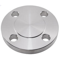 Nascent Silver Stainless Steel Blind Flange 316 L, Packaging Type: Standard