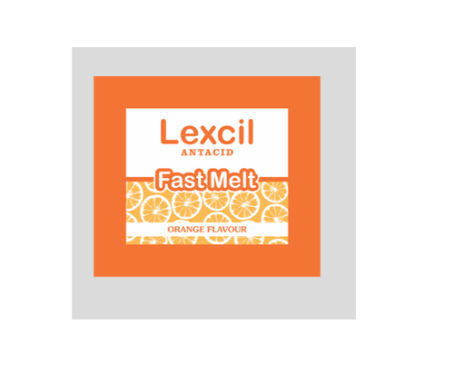 Lexcil Antacid Fast Melt Powder, Packaging Type: Packets