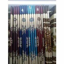 Silk Printed Designer Curtain, For Door