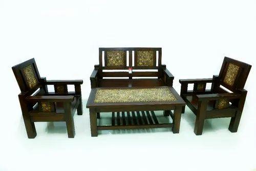 Modern Teak Wood Sofa Set At Rs 25000 Set À¤µ À¤¡à¤¨ À¤¸ À¤« À¤¸ À¤Ÿ Red Chair Home Decor Ernakulam Id 20585094355