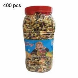 Fairy 9 Months 400 Pieces Sweets And Toffee, Packaging Type: Plastic Jar
