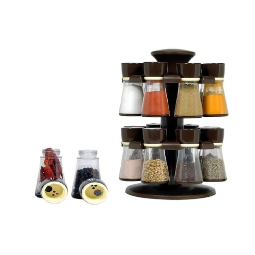 16 Jar Masala Container Rack