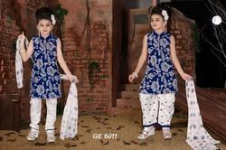 Girls Silk Suits