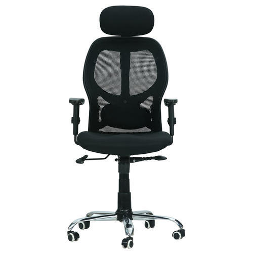 Fabric Black Green Soul New York High Back Mesh Office Chair Rs