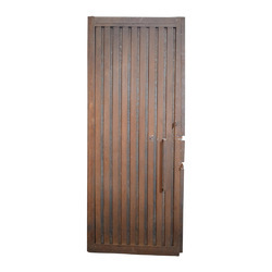 Solid Iron Gate, Size: 3x6.5 Feet