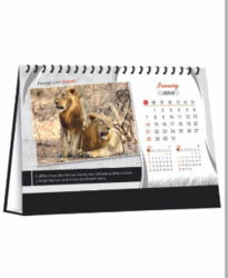 Wildlife Table Calender