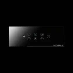 Touchmatik Touch Switch 6 Touch Switches Plus One Master, Switch Size: 6 Module, Finishing Type: Glass Finish