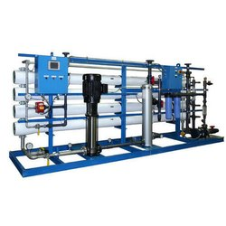 INDUSTRIAL SEA WATER RO System